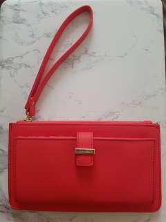 Witchery Katie Wallet - Coral Red