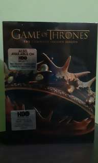 Game of Thrones Complete Season 2 DVD + Blu Ray + Digital Copy