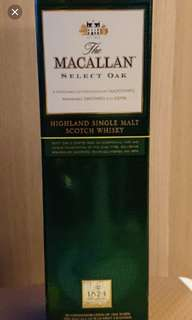Macallan 威士忌700mI連盒。