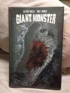 Giant Monster steve niles nat jones graphic novel comics book