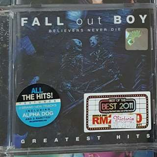 Fall Out Boy - Believers Never Die Greatest Hits