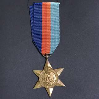 WW2 Great Britain 1939-1945 Star Medal