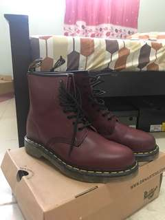 Dr.Martens eye boot 1460, cherry red