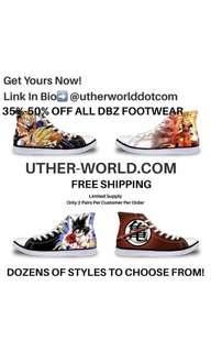 DRAGON BALL Z SHOES/Dragon Ball super shoes/Dragon Ball Series Shoes
