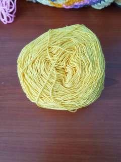 Fingering weight yarn