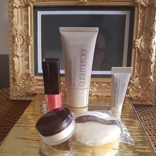 LAURA MERCIER LUXURY SAMPLE 5 PIECE GIFT!