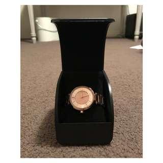 Armani Exchange Ladies Rose Gold Watch