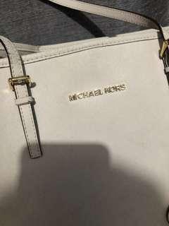Authentic Michael kors large tote bag