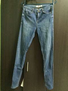 Topshop Leigh Mid Rise Skinny