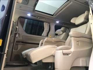 ALPHARD G ATPM PILOTSEAT 57rb KM pilot seat TERMEWAH