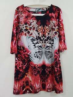 2pcs $8🔴A399 Ladies dress blouse tops XL