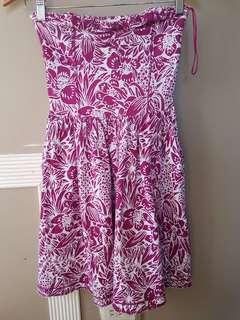 Aeropostale printed beach dress