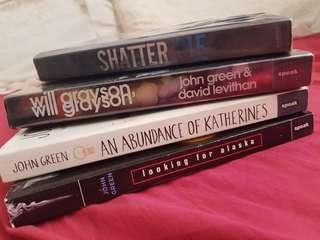 REPRICED! John green and Tahreh Mafi Books