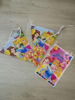 Princess party banner/ bunting