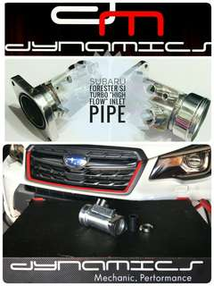 "Subaru Forester SJ (FXT) : FORCE ""High Flow"" Turbo Inlet Pipe"