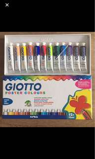 Giotto Poster Colours Set