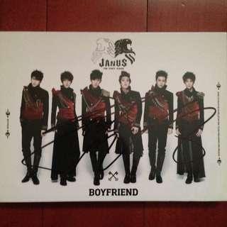 BOYFRIEND Janus (Hyunseong Autographed)