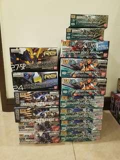 <New arrival> HG RG MG Gundam model kits