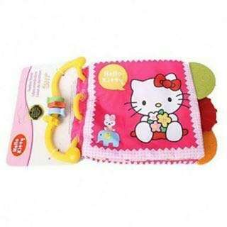 Hello Kitty Teether Clothbook