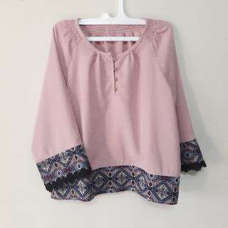 Ethnic blouse