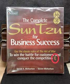 《Preloved Good Condition + The Art Of War Strategies In Business》Gerald Michaelson & Steven Michaelson - THE COMPLETE SUN TZE FOR BUSINESS SUCCESS : Use the Classic Rules of the Art of War to Win the Battle for Customers and Conquer the Competition