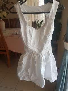 Open heart back dress