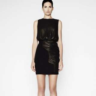 Camilla And Marc Black Eden Dress