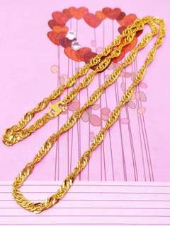916 Gold Adult & Child Necklace
