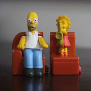 Homer and Lisa Couch Gag