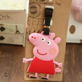 📮Brand New Peppa Piggy Luggage Bag Tag