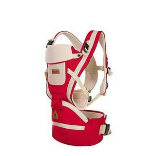 Baby Hip Seat Carrier - RED