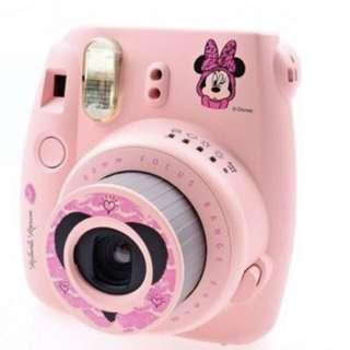 FUJI日本富士 mini8 拍立得 粉紅米妮