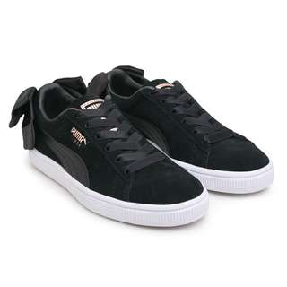 Puma Womens Suede BOW Shoe Black