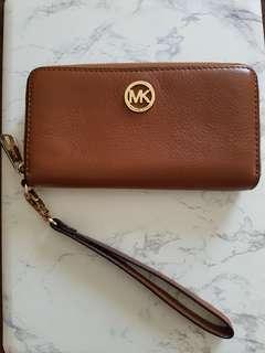 Michael Kors Jetset Ziparound Wristlet Wallet - Luggage