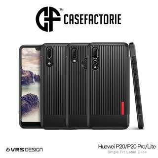 VRS Design Single Fit Label Case for Huawei P20/ P20 Pro