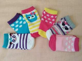 Infant socks 3-6mos for girls