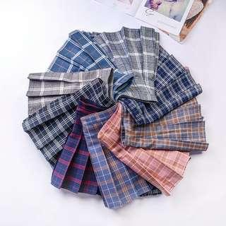 Ulzzang Women's Fold Plait Skirt (PO)