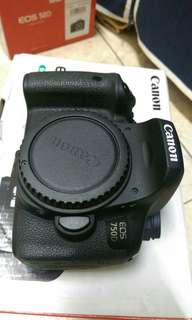 🚚 Eos 750d+18.55mm full set acc box
