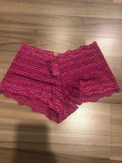 bn victoria's secrets very sexy boy briefs panty size s