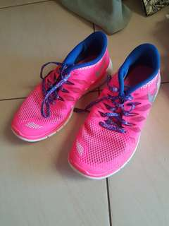 Pink runners