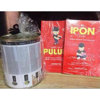 My Ipon Diary & Diary of a Pulubi plus coin bank