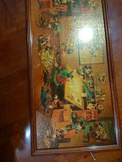 迪士尼 米奇老鼠 micky mouse puzzle 連框