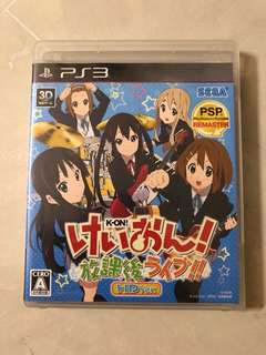 PS3 game - K-ON! Houkago Live!! (JPN)