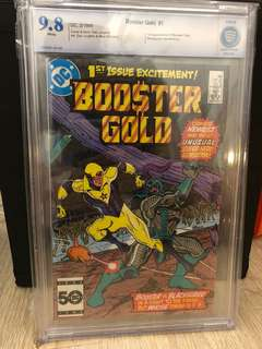 Booster Gold #1 CBCS 9.8 First Appearance of Booster Gold