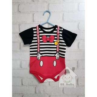 日本直送Disneybaby Bodysuit連體衣
