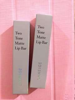 Laneige two tone matte lip bar no.4/5