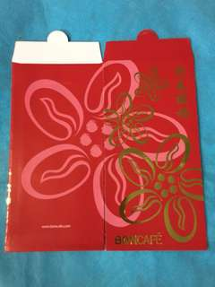 8 pcs Boncafe Red Packets