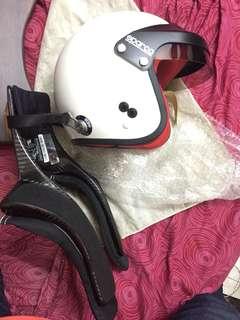 Hans device carbon fibre FIA