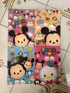 Tsum Tsum Children Notebook (32 Pages)