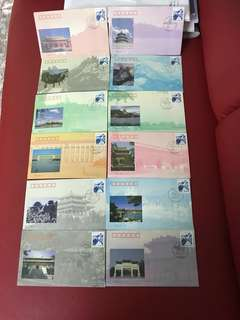 China Stamp- BFJF-1 x 12 covers as in pictures